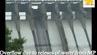 Sardar Sarovar Narmada dam overflows for the first time in this season