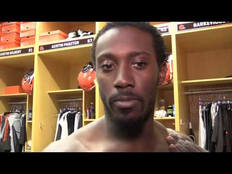 Browns CB Charles Gaines on making his NFL debut vs. Steelers