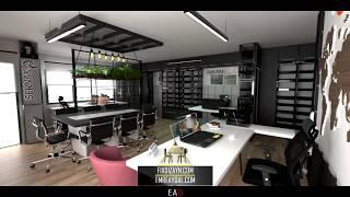 EA & Fix Dizayn - Sernak Ofis İç Mimari Tasarım
