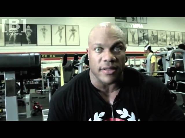 PHIL HEATH   2015 CHEST AND SHOULDERS WORKOUT   Bodybuilding Muscle Fitness Training