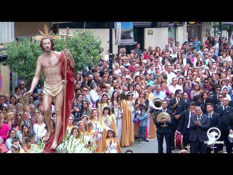 DOMINGO DE RESURRECCIÓN. SEMANA SANTA ARCHENA 2017. Procesión del Encuentro.