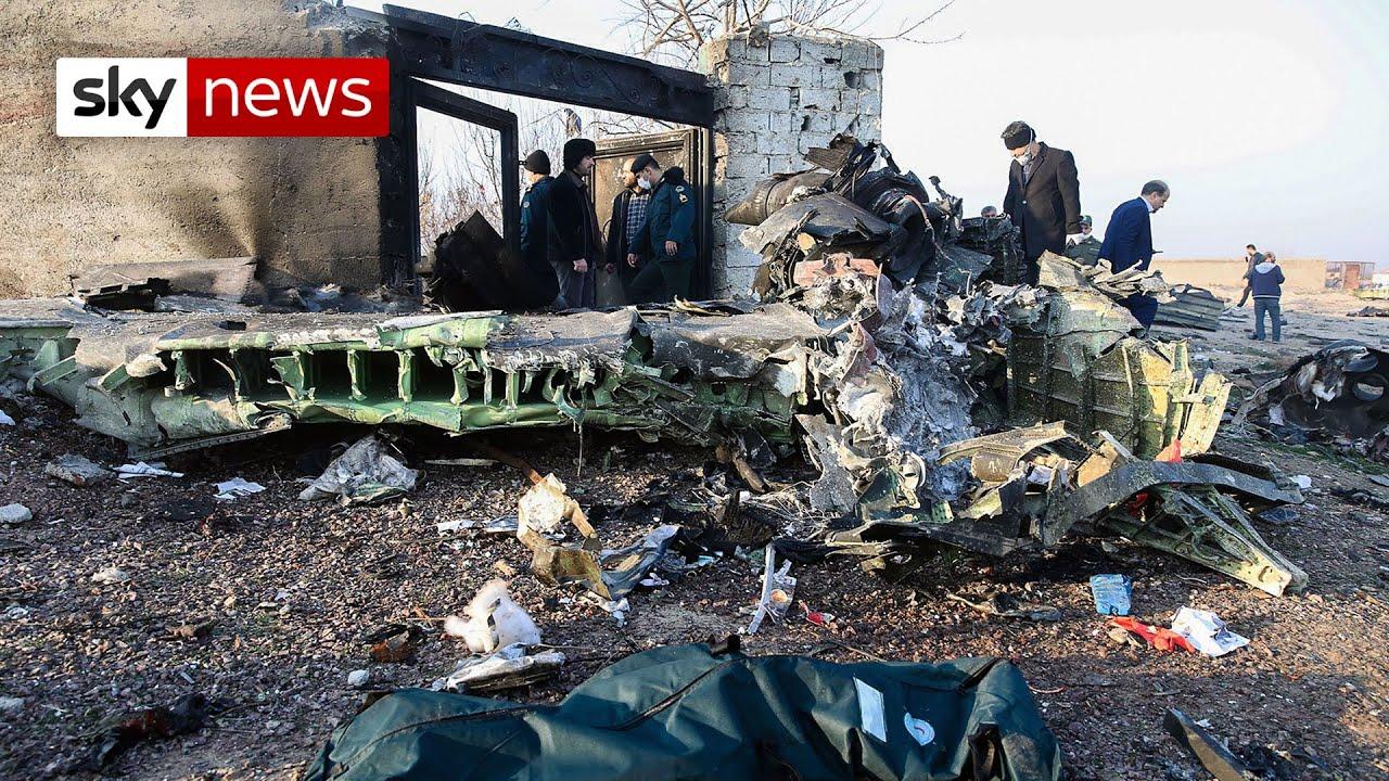 BREAKING NEWS: Three Britons among 176 killed in Iran plane crash