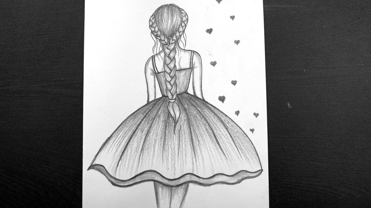 Beautiful Drawing For Women's Day    Women's Day Drawing ...