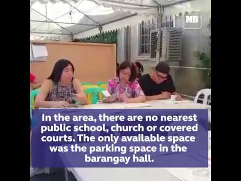 Comelec seizes roadway to accommodate voters