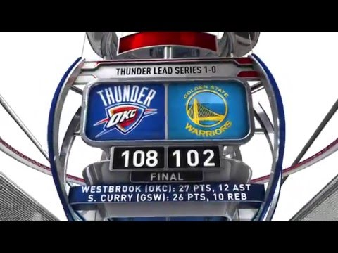 Oklahoma City Thunder vs Golden State Warriors - May 16, 2016