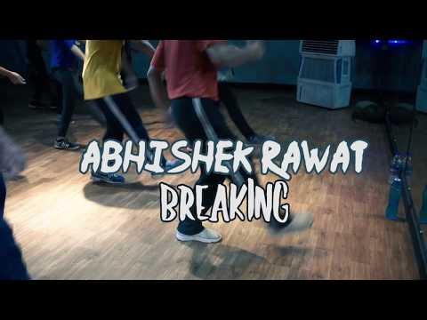 Electro Dance Camp   Abhishek Rawat    Break Dance    James Brown × Skillz - Poppa Soul