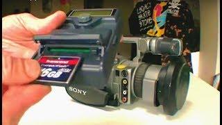 TAPELESS VX1000 / DN-60(A) CF CARD RECORDER DATAVIDEO VX SKATE FILMING