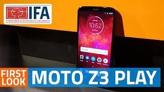 Moto Z3 Play Modular Smartphone First Look