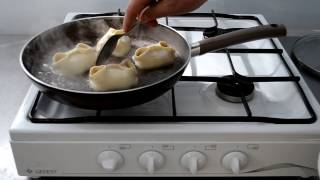 видео Как приготовить манты в микроволновке