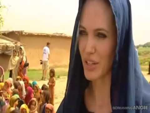 angelina jolie Visit to Pakistan II Speak Media