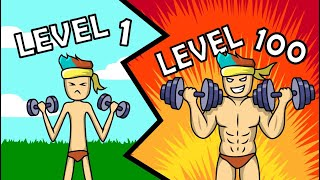 HIGHEST MUSCLE LEVEL RECORDED? // Roblox - Weight Lifting Simulator