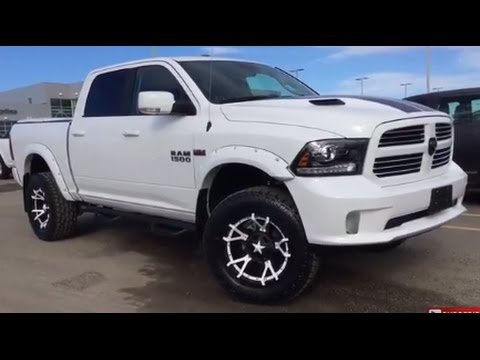 northland dodge brand new lifted 2017 ram 1500 sport crewcab 5 7l v8 hemi 8 speed for sale. Black Bedroom Furniture Sets. Home Design Ideas