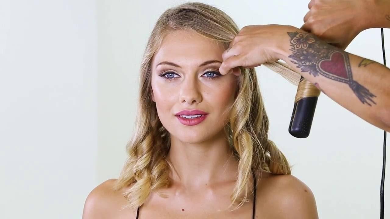 Ondas de agua peinado tutorial