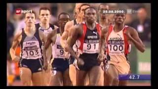 Leichtathletik Meeting Brüssel 800m Herren 1998 - 2001