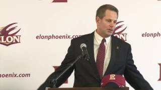 Elon Football | Curt Cignetti introductory news conference