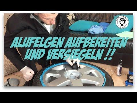 Anleitung : Felgen Aufbereiten  und Felgen Versiegeln // Audi TT, A3 // Autopflege #24