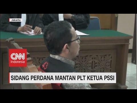 Joko Driyono Dituntut Pasal Berlapis