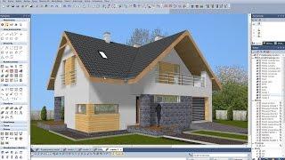Akademia EliteCAD. Lekcja 15 - Tworzenie wizualizacji budynku / Wizualizacje architektoniczne