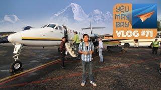 VLOG #71: Bay ngắm cảnh ở Nepal, Maldives, Hạ Long có gì vui? | Yêu Máy Bay