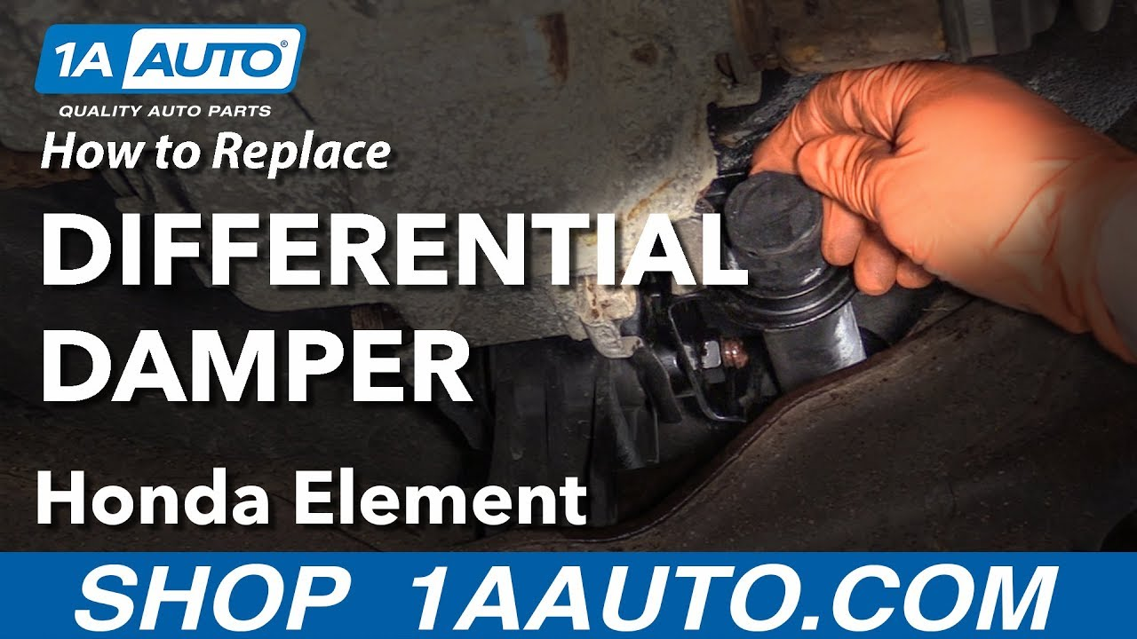 How to Replace Differential Damper 03-11 Honda Element