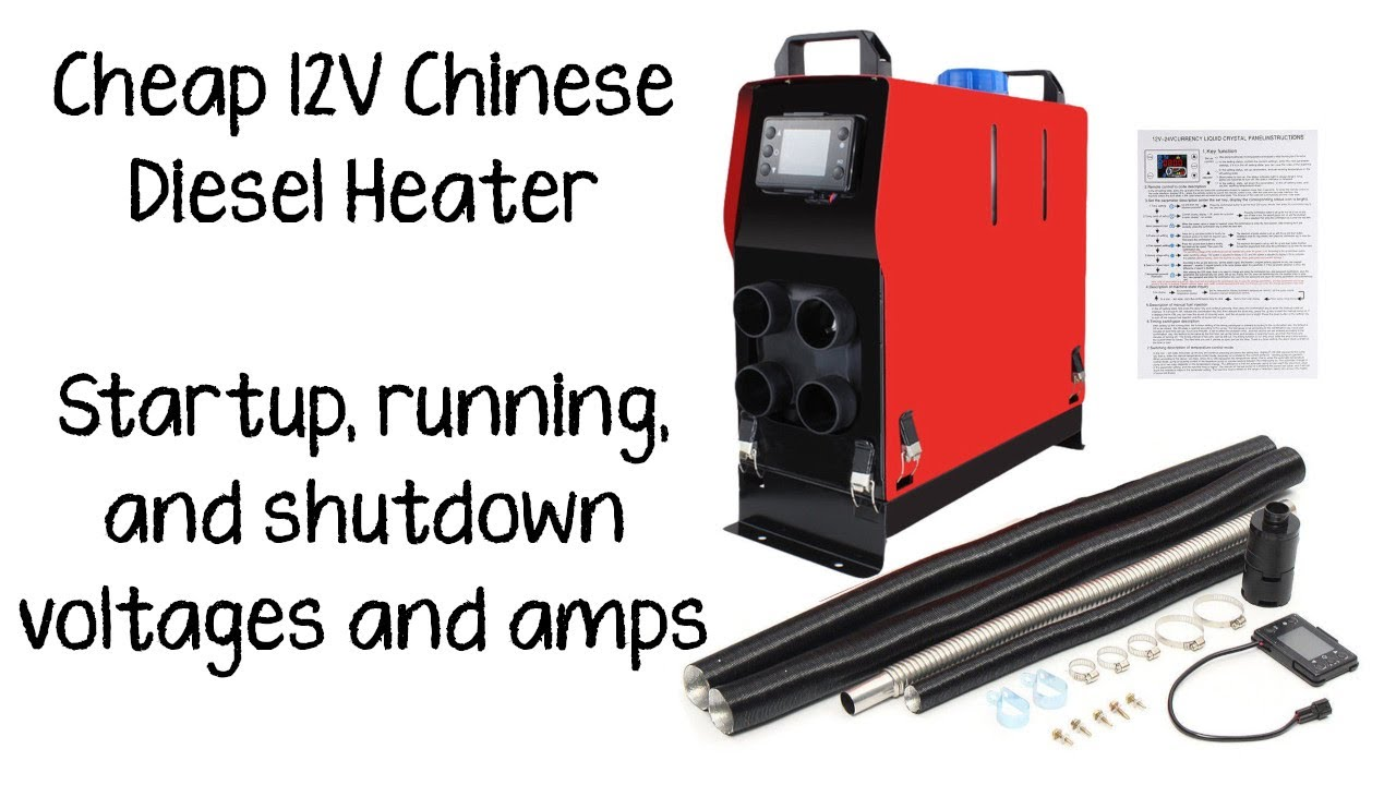 Cheap 12v Chinese Diesel Heater For My Boat