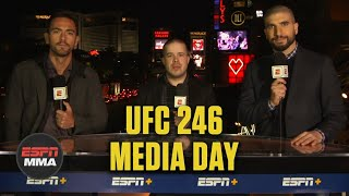Biggest takeaways from UFC 246 Media Day | ESPN MMA