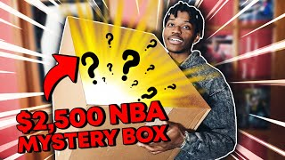 OPENING $2,500 NBA MYSTERY BOX *RARE ITEMS*