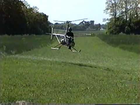 видео: Самодельный вертолёт a_w 95