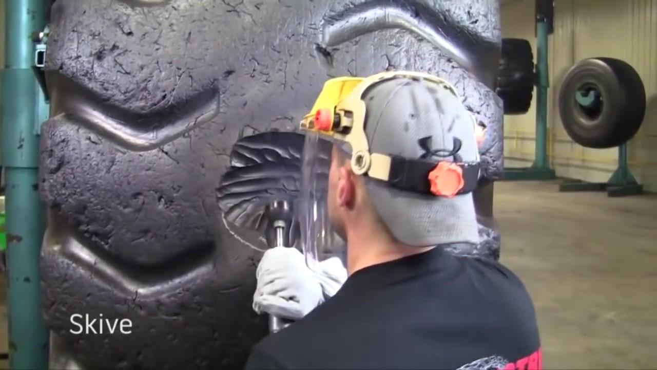 Как ремонтируют колесо стоимостью 30 000$ (видео)