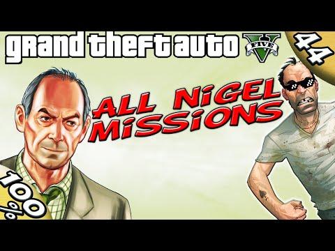 GTA V - ALL NIGEL MISSIONS [100% GOLD Walkthrough]