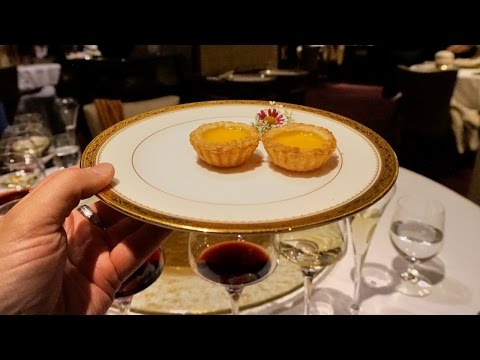 World's best Chinese restaurant - T'ang Court in Hong Kong - 3 Michelin stars