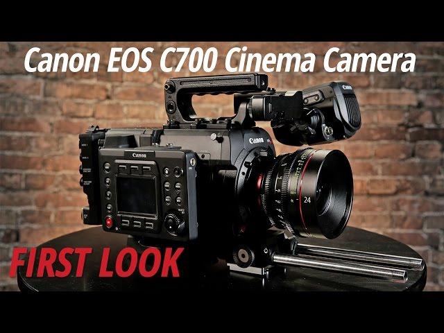 Canon announce Canon EOS C700 4 5K Cinema Camera with global