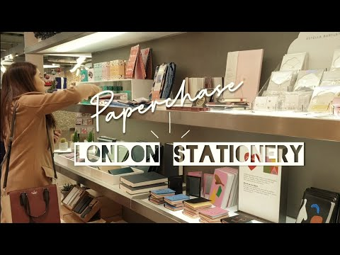 London Stationery Shop Tour • Paperchase Store | Stationery Shops Around The World!