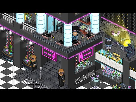 How To Build A Habbo Night Club Youtube
