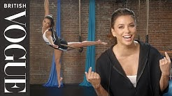 Eva Longoria Tries Circus Training | Extreme Wellness | British Vogue