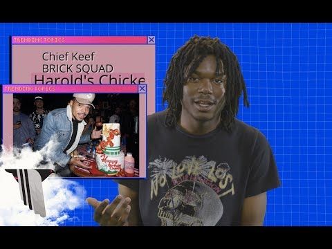 LUCKI On Lil Wayne, Chief Keef, And Harold's Chicken | Trending Topics