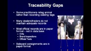 Dr. Richard Breitmeyer - Traceability Needs for Future Tuberculosis and Brucellosis Programs