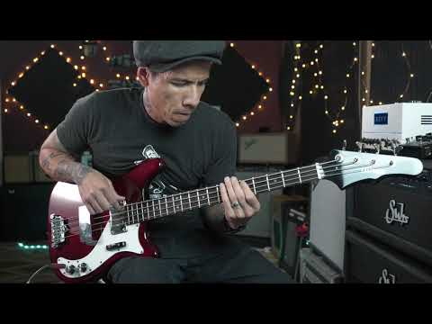 Eastwood Newport Bass Demo With RJ Ronquillo