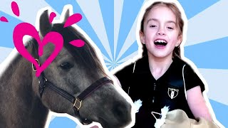 GET READY TO RIDE A HORSE TUTORIAL JUSTICE GIRLS WITH HEART