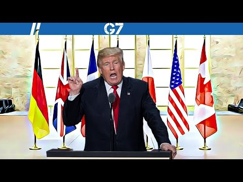 Thumbnail: LIVE:President Trump speech at G7 Summit 2017.G7 Summit Taormina, Sicily, Italy. Taormina Summit.