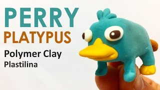 PERRY PLATYPUS (Disney Phineas and Ferb) - Polymer Clay Tutorial