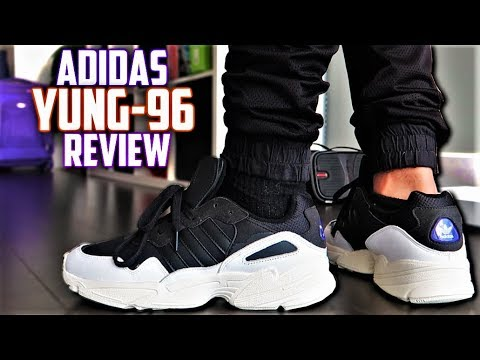 3b927d204d3 Best $100 DAD SHOE? Adidas Yung-96 Review and On-Feet