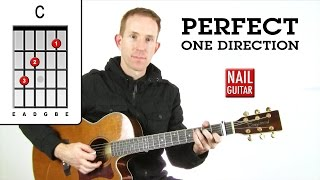 Perfect ★ One Direction ★ Guitar Lesson - Easy How To Play Chords Tutorial