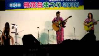 2010・7・31 小牧桃花台まつりでのライブ.