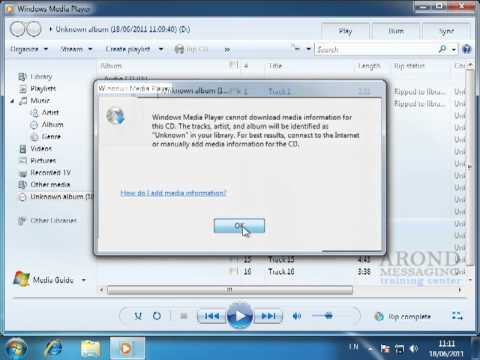 Using Windows 7 - Copy Tracks From A Music CD
