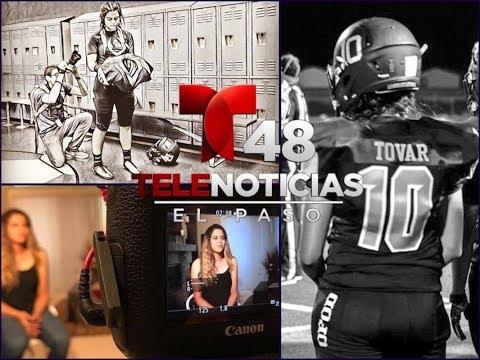 🏈Love' Tovar Telemundo El Paso Special Report ~ Aired 09.26.17