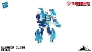 Optibotimus Reviews: Transformers Robots in Disguise Warrior Class BLURR