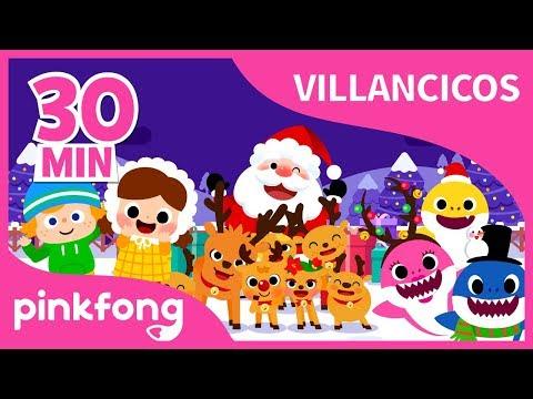 Los Mejores Villancicos Navideños | +Recopilación | Villancicos de Navidad | Pinkfong
