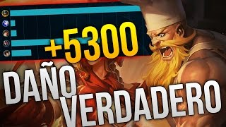 LA RESPUESTA CONTRA PRACTICAMENTE TODO | +5300 DE DAÑO VERDADERO | OLAF TOP