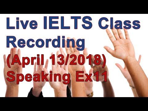 IELTS Speaking - Part 1 High Score Strategies Ex.11 A